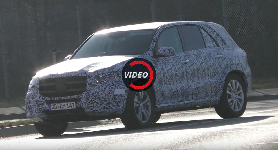 2018 Mercedes Gle Now Less Camouflaged New Video