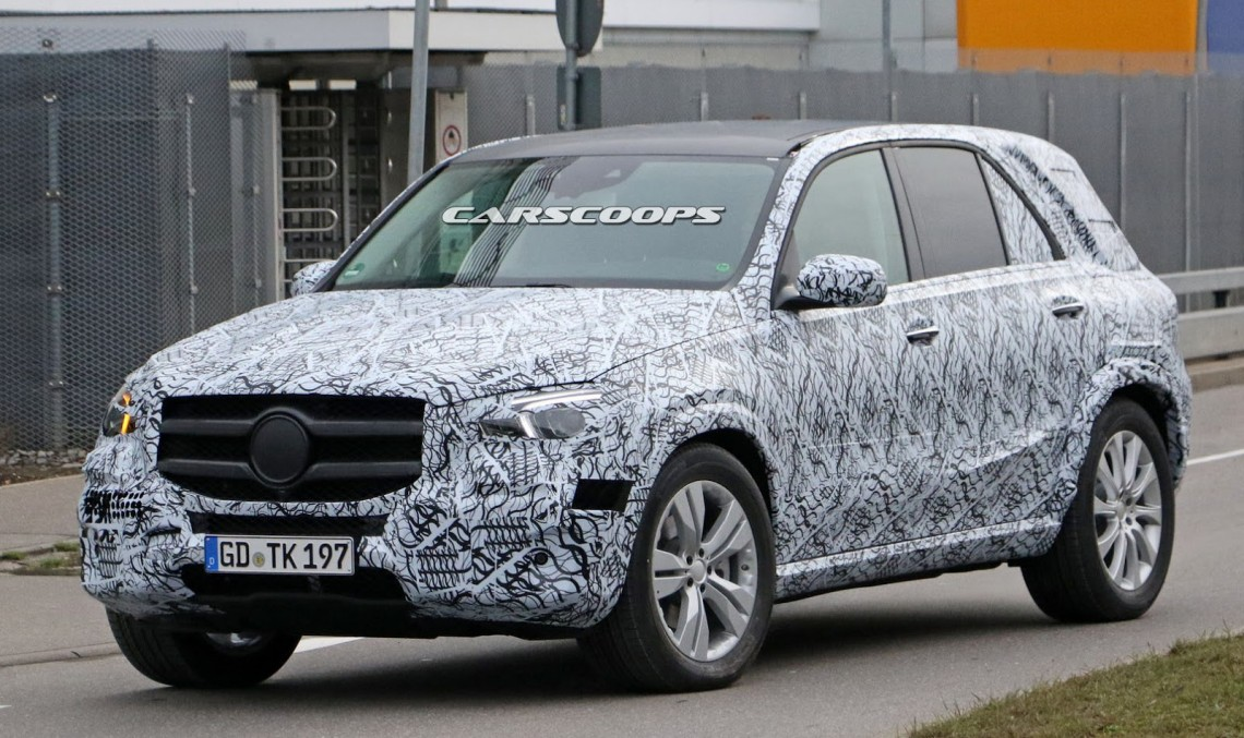 2018 Mercedes GLE reveals its interior for the first time