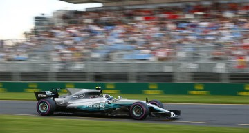 Mercedes puts both cars on the podium and Vettel wins, as the Formula 1 season kicks off in Australia