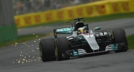 Deja-vu! Lewis Hamilton starts from pole in the Australian Grand Prix