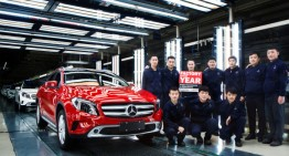 "And the ""Factory of the Year"" award goes to Daimler's plant in China"