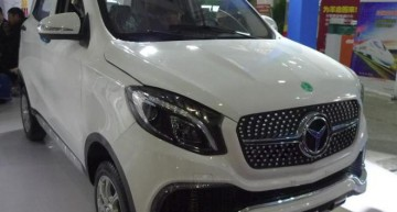 Copycat! Chinese car maker builds Luxing iStar, EV that resembles a Mercedes