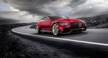The 4-door Mercedes-AMG GT is coming to the Geneva Motor Show in March