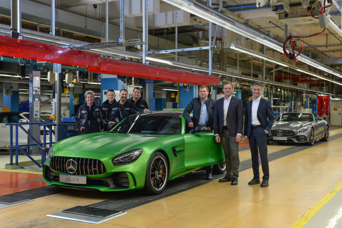 Ready, steady, go! The production of the three new Mercedes-AMG GTs starts in Sindelfingen