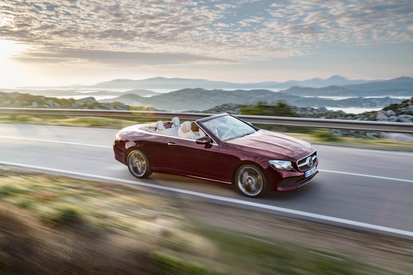 All-new Mercedes E-Class Cabrio prices start from 54,228 euro