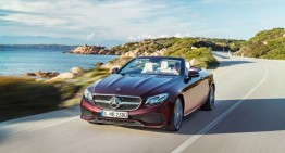 Hello, sunshine! This is the new Mercedes-Benz E-Class Cabriolet