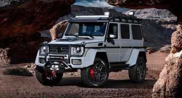 """Adventure"" is his middle name! This is the Mercedes-Benz G550 4×4² by Brabus"