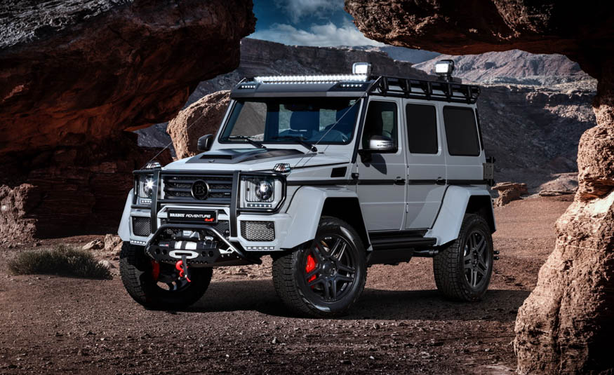 """""""Adventure"""" is his middle name! This is the Mercedes-Benz G550 4×4² by Brabus"""