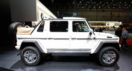 LIVE FROM GENEVA: The 750,000 euro Mercedes-Maybach G 650 Landaulet