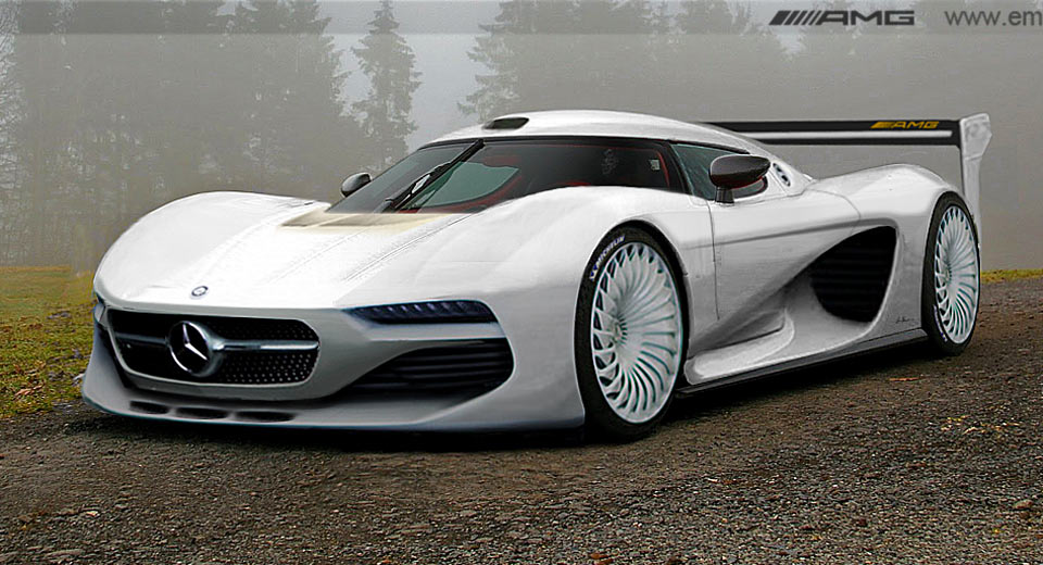 That dazzling hypercar – Mercedes-AMG Project One rendered