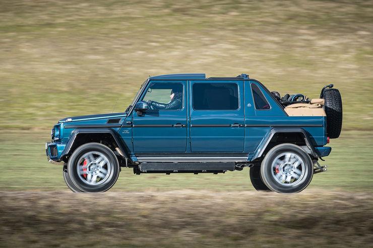 Test mercedes maybach g 650 landaulet 750 000 euro drop for Mercedes benz drop top