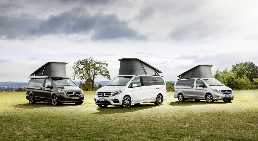 Mercedes V-Class Marco Polo HORIZON: New recreational vehicle