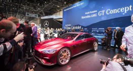 LIVE FROM GENEVA: The Mercedes stand and all the premieres