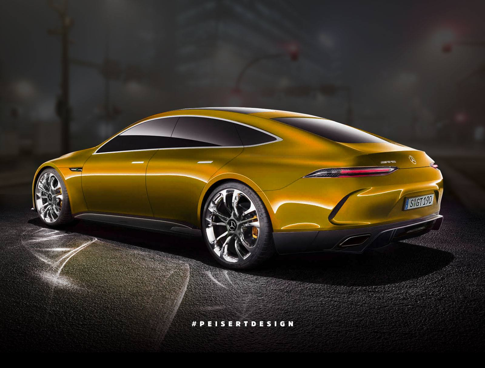Mercedes amg gt concept see how it looks in semi production guise mercedesblog