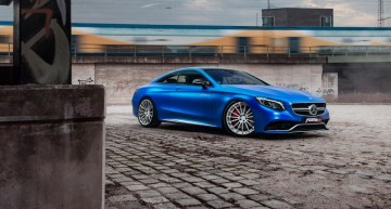 Madness reload – Deep blue Fostla 2017 Mercedes-AMG S63 Coupe S