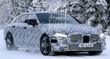 2018 MERCEDES CLS heating the cold – NEW SPY PICS