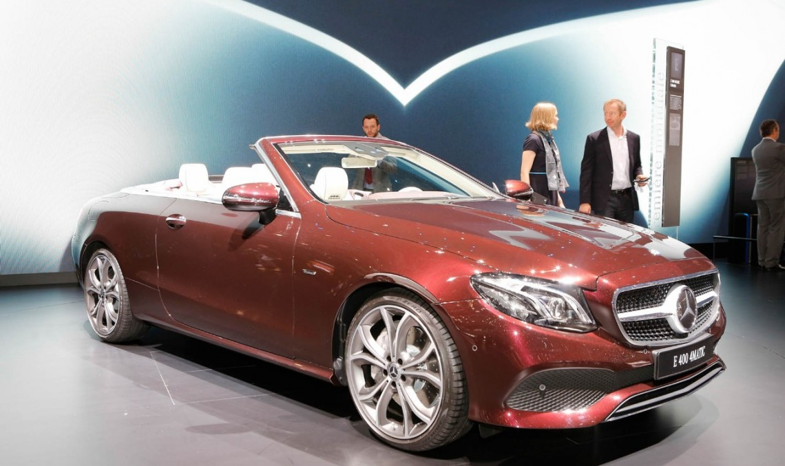 LIVE FROM GENEVA: Meet the all-new Mercedes E-Class Cabrio