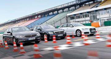 BUSINESS SEDANS: Mercedes E 350 d versus Audi A6 3.0 TDI Quattro, BMW 530d