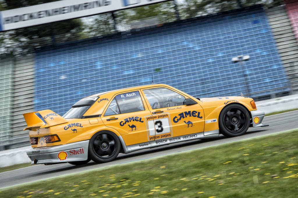 Mercedes-Benz Classic Trackdays 2017: Mit dem eigenen Mercedes-Benz auf die Rennstrecke