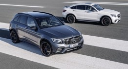 Mercedes-AMG GLC 63 and GLC 63 Coupe: SUPER-SUVS with 510 hp