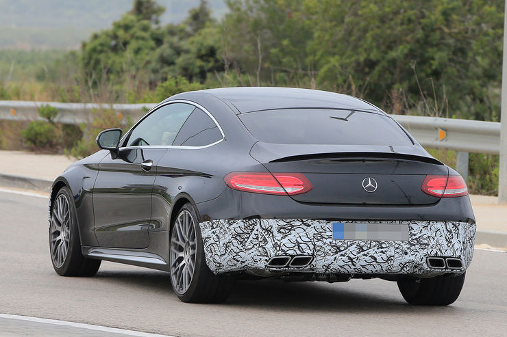 Mercedes-AMG C 63 Coupe facelift 2018 (4)