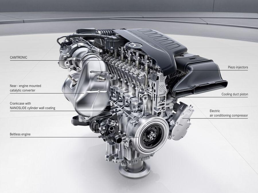 Mercedes S-Class facelift 2017 OM656