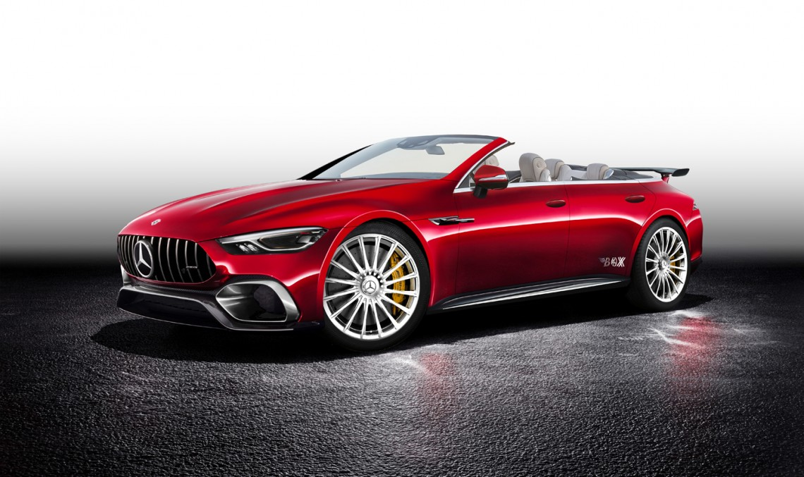 Mercedes-AMG GT Concept gets Shooting Brake and Cabrio treatments