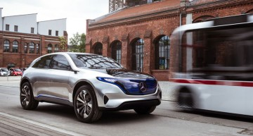 New infos about the Mercedes EQ – the first 100% electric SUV from Mercedes