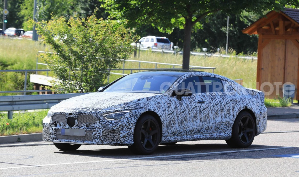 Mercedes-AMG GT4: 4-door supercar caught testing - MercedesBlog