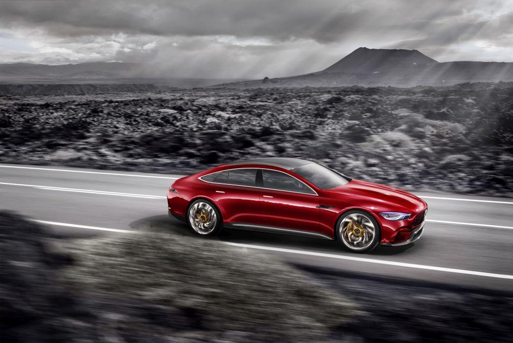 Showcar Mercedes-AMG GT Concept Showcar Mercedes-AMG GT Concept