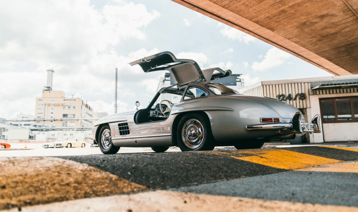 Classy club – The exclusive Mercedes-Benz 300 SL enthusiasts met at the Museum