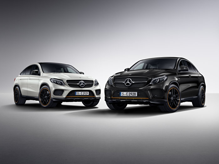 Orange and sporty – The Mercedes GLE Coupe is now available as OrangeArt Edition