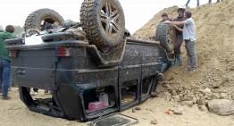 Shock crash: Another Mercedes G 500 4×4² bites the dust