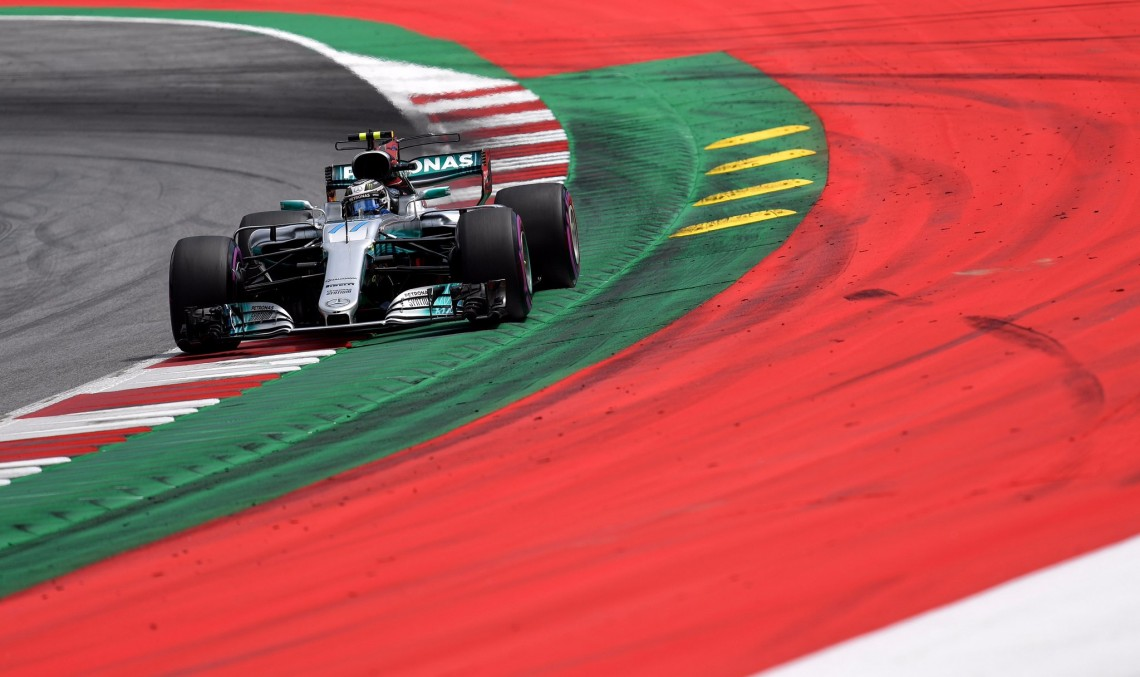 Mercedes' Valtteri Bottas wins the Austrian Grand Prix
