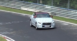 Beast escaped – Mercedes-Benz CLS spied at the Nurburgring