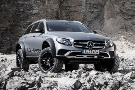 Mercedes-Benz E-Class All-Terrain 4x4² (9)