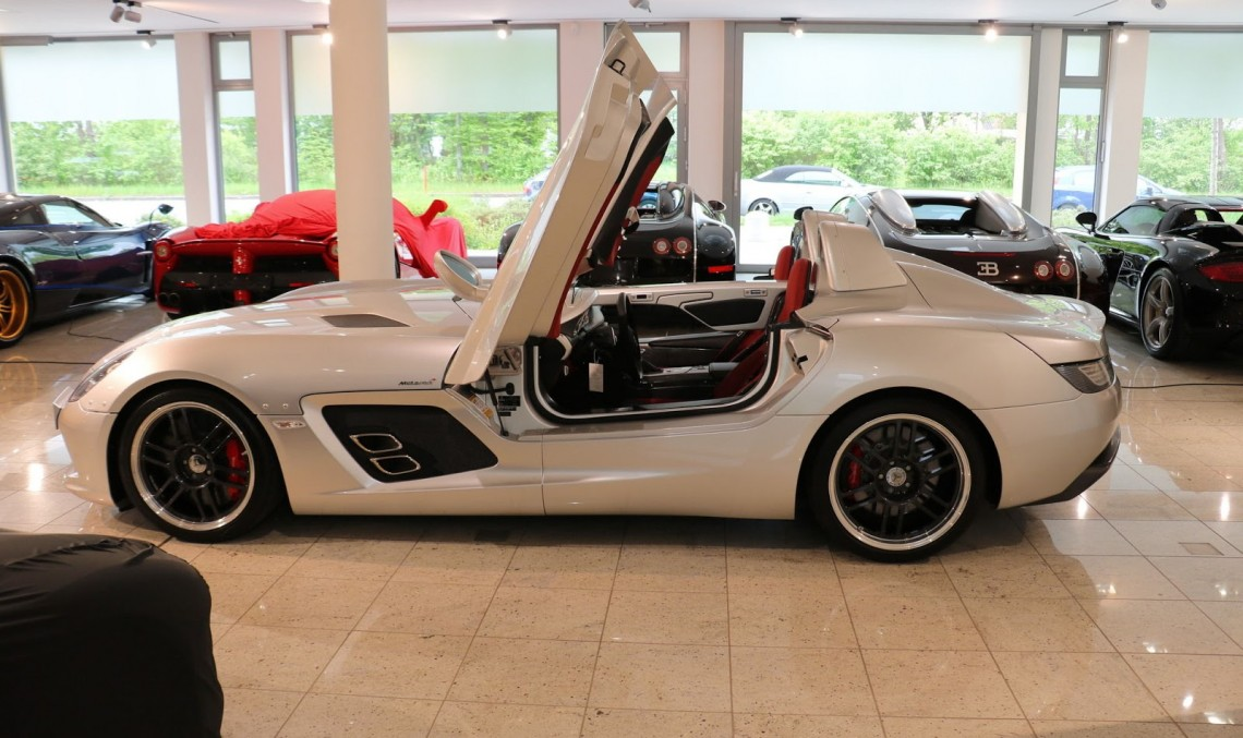 Mercedes-Benz SLR Stirling Moss – Treasure on the market