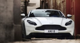 For James Bond: Aston Martin DB11 gets AMG Biturbo V8