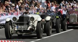 Silvretta Classic Rally Montafon 2017: Mercedes classics on idyllic roads