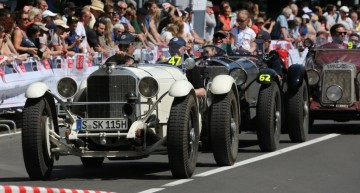 Silvretta Classic Rally Montafon 2017: Mercedes classics on idyllic roads