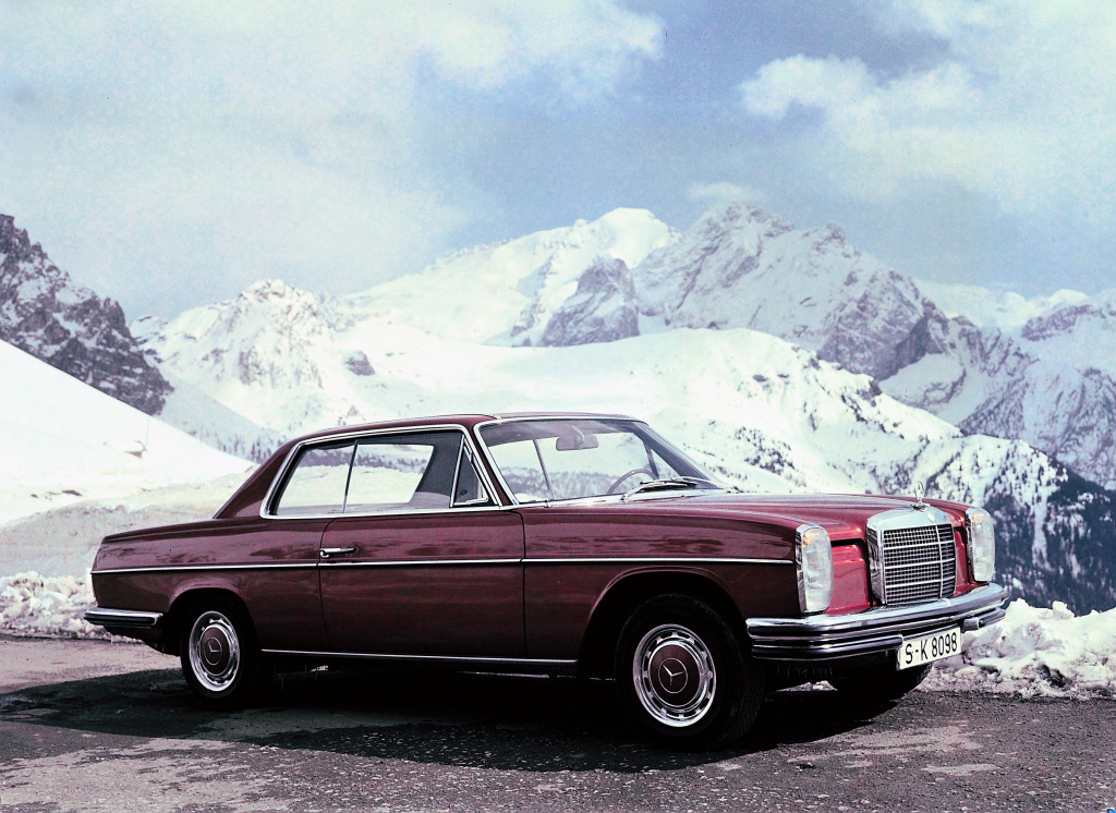"Mercedes-Benz ""Stroke 8"" coupé from model series W 114."