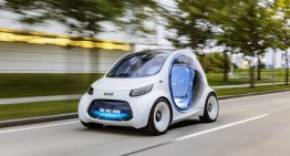 Autonomous concept car smart vision EQ fortwo – The end of the world as we know it