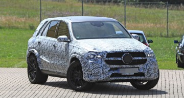 First pictures of the future Mercedes-AMG GLE 63 (W167)