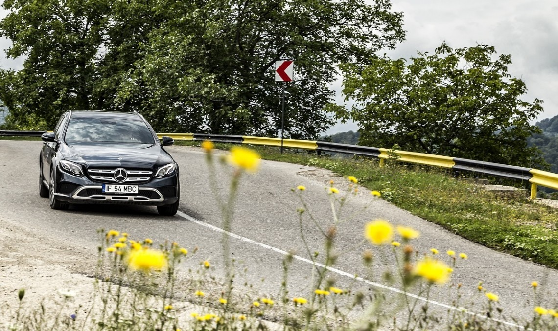 Testing the Mercedes-Benz E-Class All-Terrain – The car you need when you're planning to move