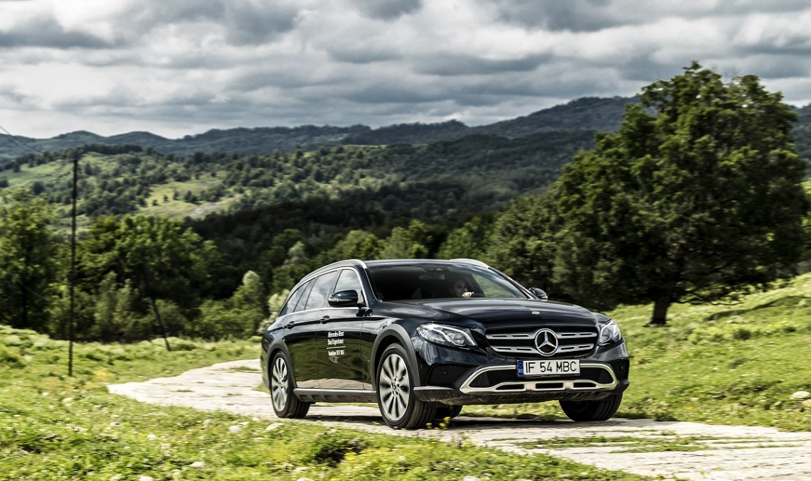 The Mercedes-Benz E 400 d All-Terrain gets the S-Class inline-six diesel engine