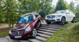 Mercedes-Benz GLC passes the 1 million mark