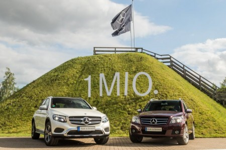 Mercedes-Benz GLC and GLK (2)