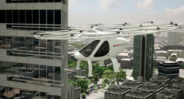 Daimler invests in Flying Taxis developed by Volocopter