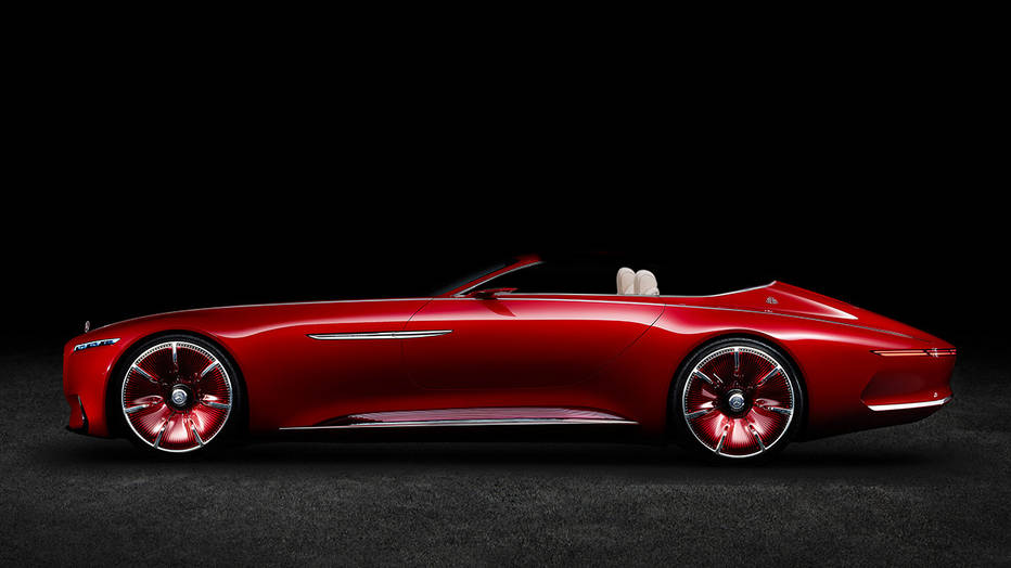 Brace yourself! Mercedes-Maybach 6 Convertible will be shown at Pebble Beach