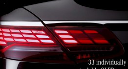 OLED tech for revamped Mercedes S-Class Coupe and Cabrio